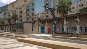 infografía 3D urbanización de la Gran Via de Ceuta