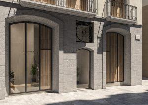 infografia 3D render Portal promocion Correu Vell